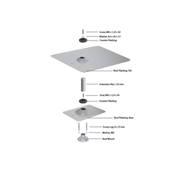 Ubiquiti sunMAX Tile Accessory Kit
