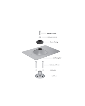 Ubiquiti sunMAX Roof Mount Kit