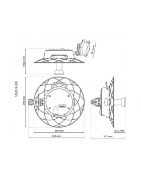 RF elements UltraDish M 5-24 Carrier Class