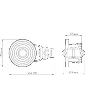 RF elements 90° Sector SH-TP 5-90